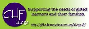 Gifted Homeschoolers Forum Bloggers