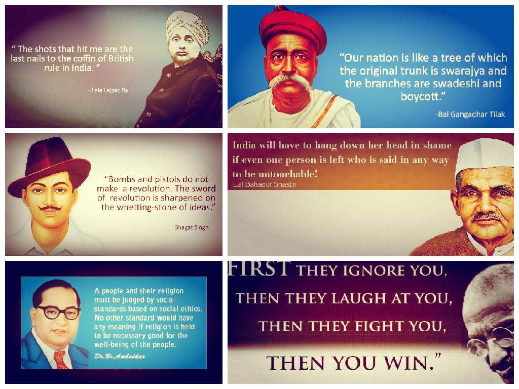 Girl Proposing A Boy Wallpapers 13 Inspiring Quotes Of India S Freedom Fighters