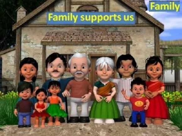 Gujarati Girls Photo Wallpapers Happy Joint Family