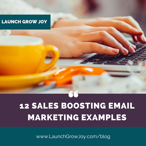 12 Powerful Sales-Boosting Email Marketing Examples for Your - making smart marketing plan