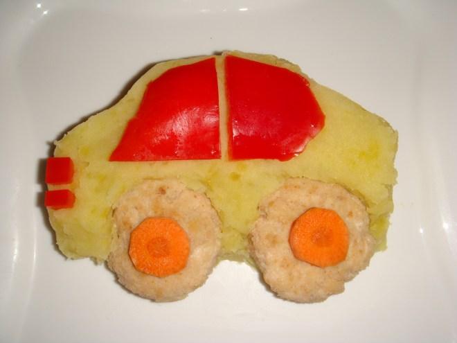 O maşinuţă