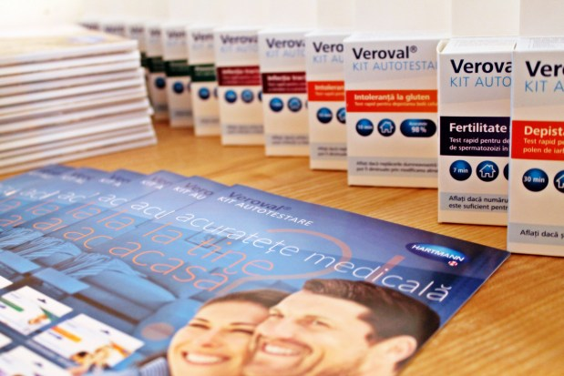 Kiturile Veroval pentru auto-depistarea unor posibile afecţiuni