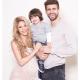 El hijo de Shakira y Piqué se llama Sasha y ya tiene jersey del Barcelona