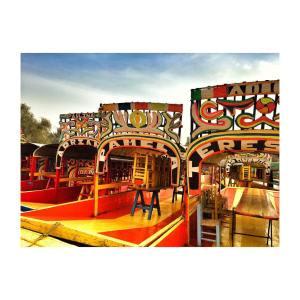 Tantos colores xochimilco df turisteandoconlasregias