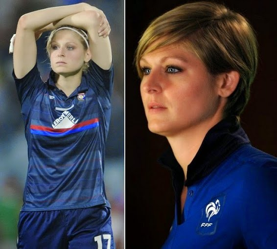 CORINE+FRANCO+hottest+french+female+footballer