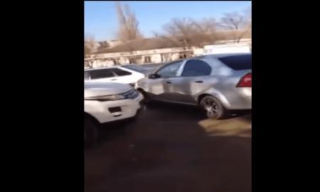 choca 17 automóviles