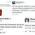 Con tristeza, famosos despiden a Juan Gabriel en las redes sociales