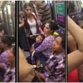 """Mujeres agreden a señora de la tercera edad por no """"ceder el asiento"""" y  las nombraron #LadiesTrenLigero"""