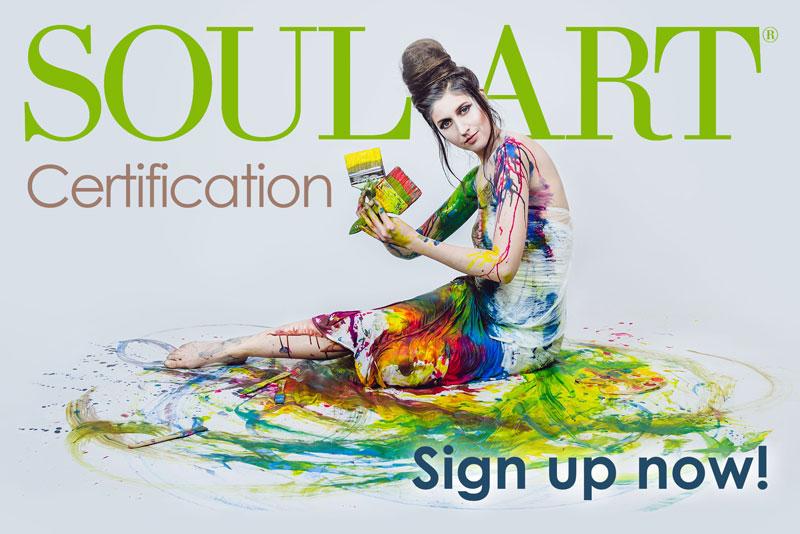 Soul Art Certification Sign up Now!
