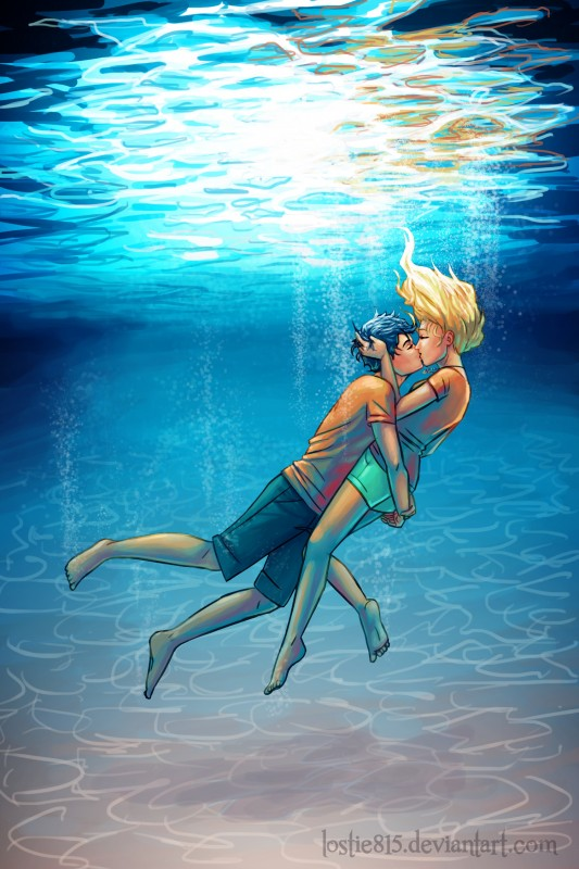 Percy Jackson – Underwater Kiss