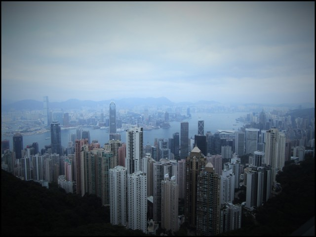 The view from the Peak is breathtaking