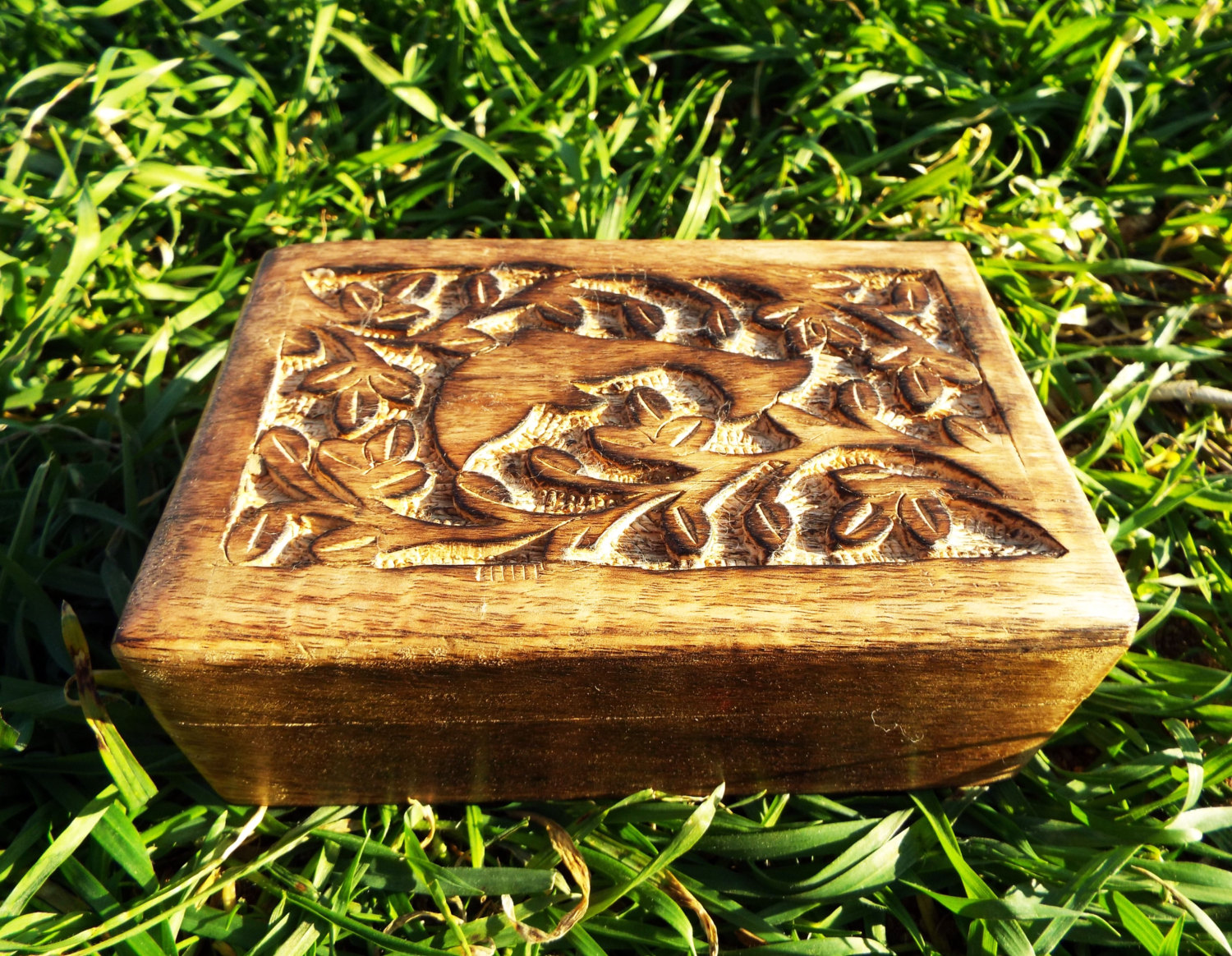 Carved Wooden Boxes Ivoiregion