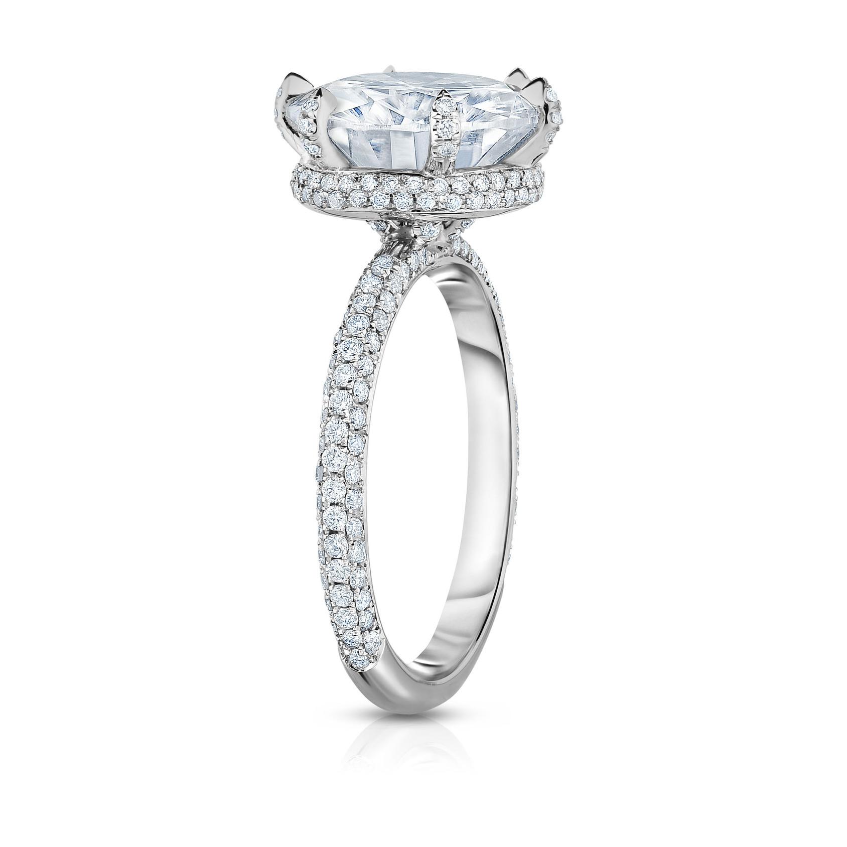 Fullsize Of White Gold Engagement Rings