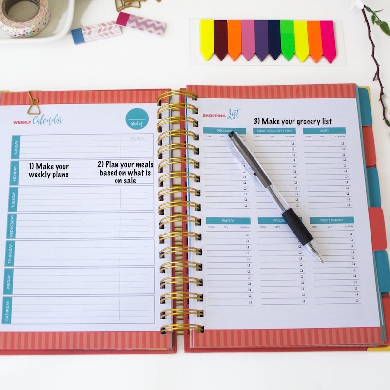 How to Budget your Bills using a Budget Planner - Simple step by