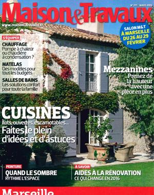 n°271 - Mars 2016 - Cuisine Contemporain chic