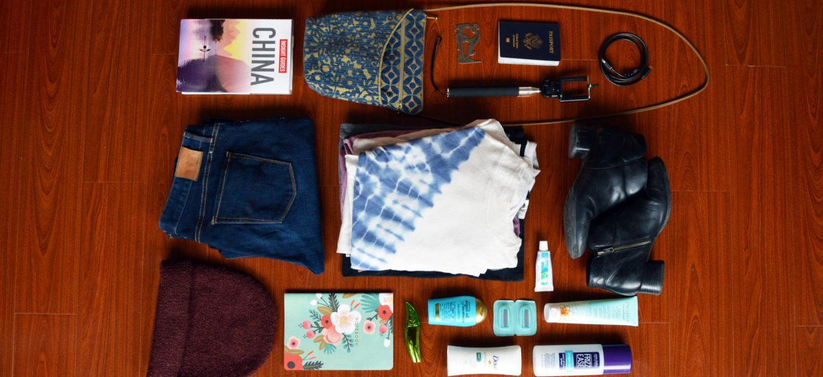 Ultimate Female Packing List For A Year In China