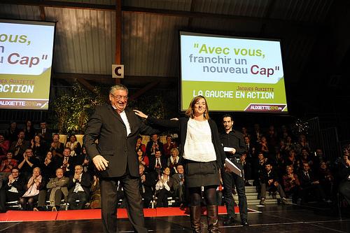 Jacques Auxiette et Laurianne Deniaud
