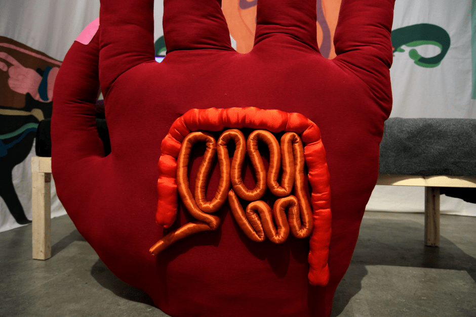 Details hand-The anger of the intestine