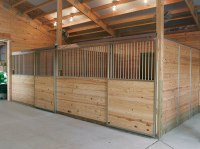 Horse Stall Design Ideas