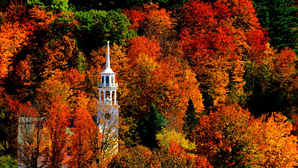 New Hampshire Fall Foliage Wallpaper Las Postales Del Oto 241 O M 225 S Bello