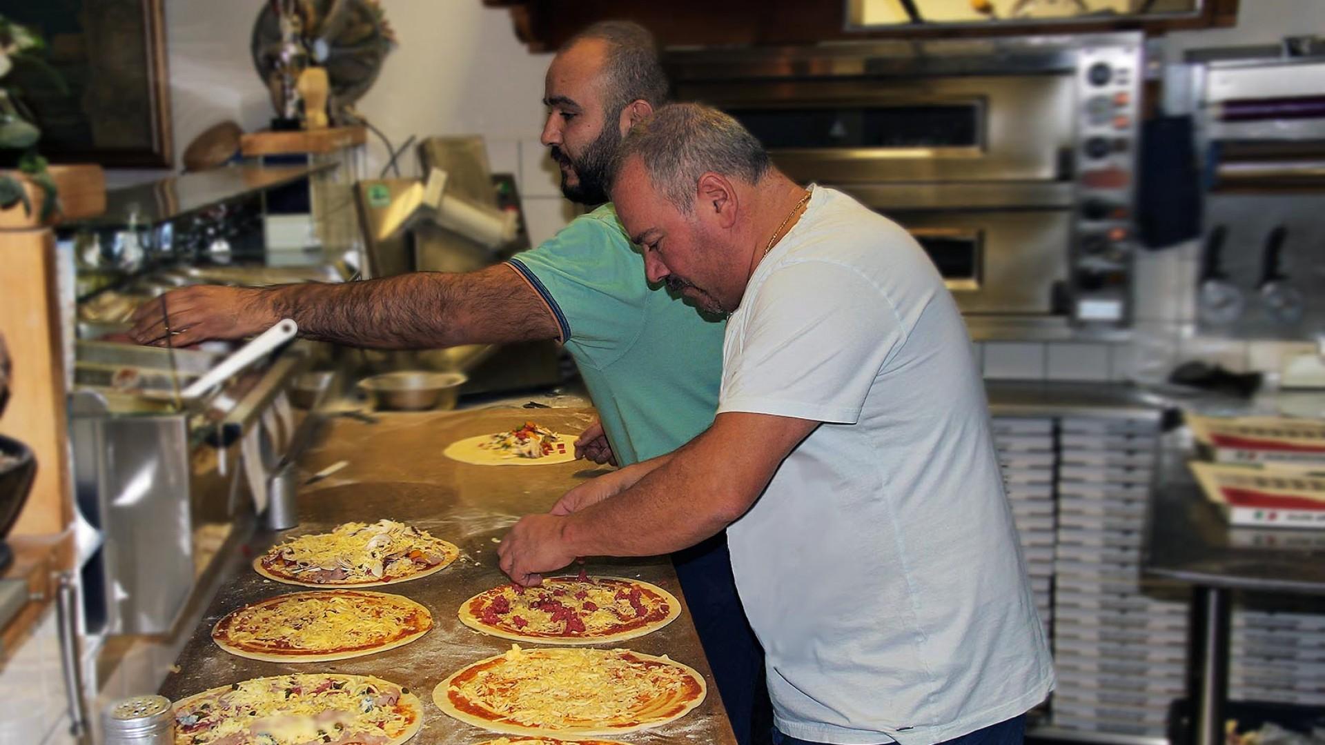 Italiaanse gerechten met liefde bereid in La Venezia Schiedam