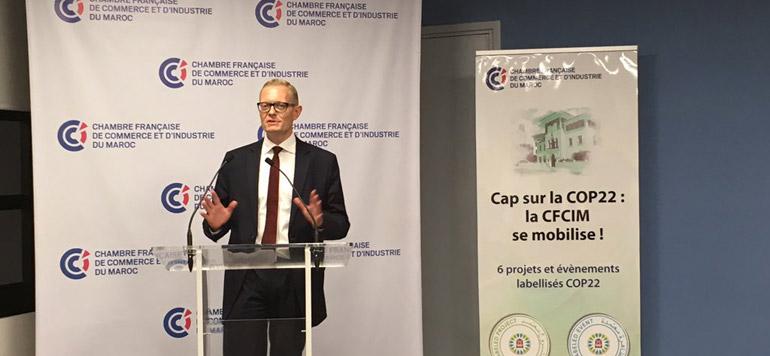 La CFCIM multiplie ses initiatives en faveur du climat - Lavieeco - Chambre De Commerce Francaise Maroc