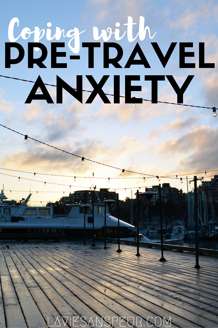Coping Mechanisms for Pre-Travel Anxiety | LA VIE SANS PEUR Life Without Fear travel and lifestyle blog. Anxious girl, fearless life. wanderlust wander explore depression mental health depression cope inspiration pinterest inspire reading journaling writing walking walk hike hiking dog stress relief relievers music calm calming playlist