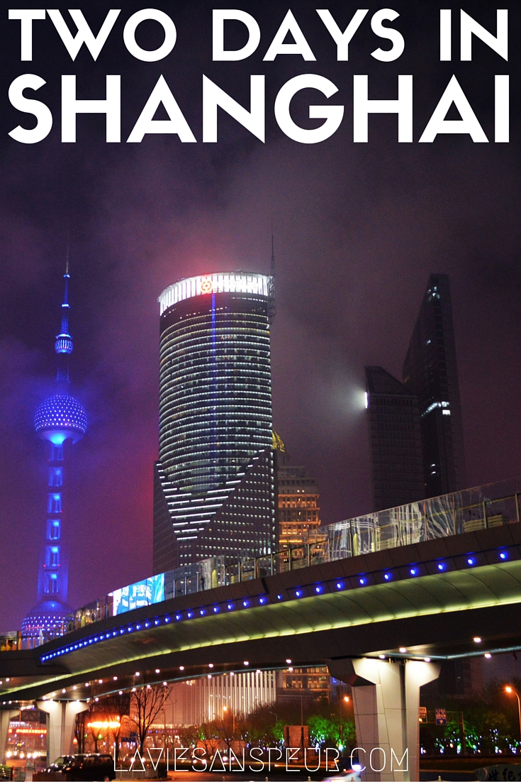 Two days in Shanghai China travel and lifestyle blog what to do see eat attractions huangpu river the bund french concession soup dumplings xiao long bao blog blogger vlog vlogger two days 48 hours british french architecture concession