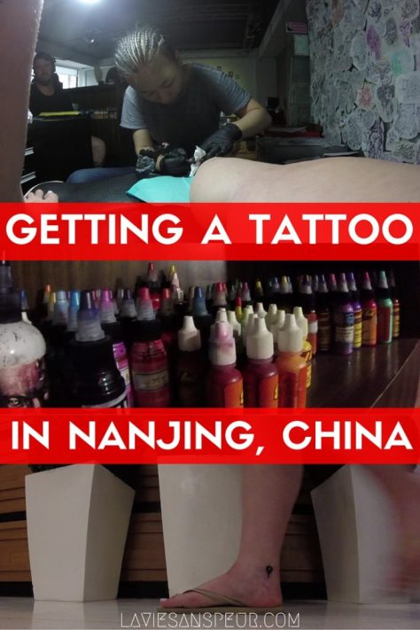 Getting A Tattoo In Nanjing, China | shop recommendation american english no chinese city xinjiekou nanjing mingjiang ciqing ming jiang tattoo tattooed artists clean hygenic safe western standards professional serious big small shop minimum vlog blog cost experience how to where location name tatooist
