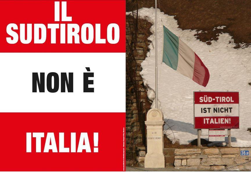 Il Sud Tirolo non è Italia! E la Sicilia? E la Sardegna?