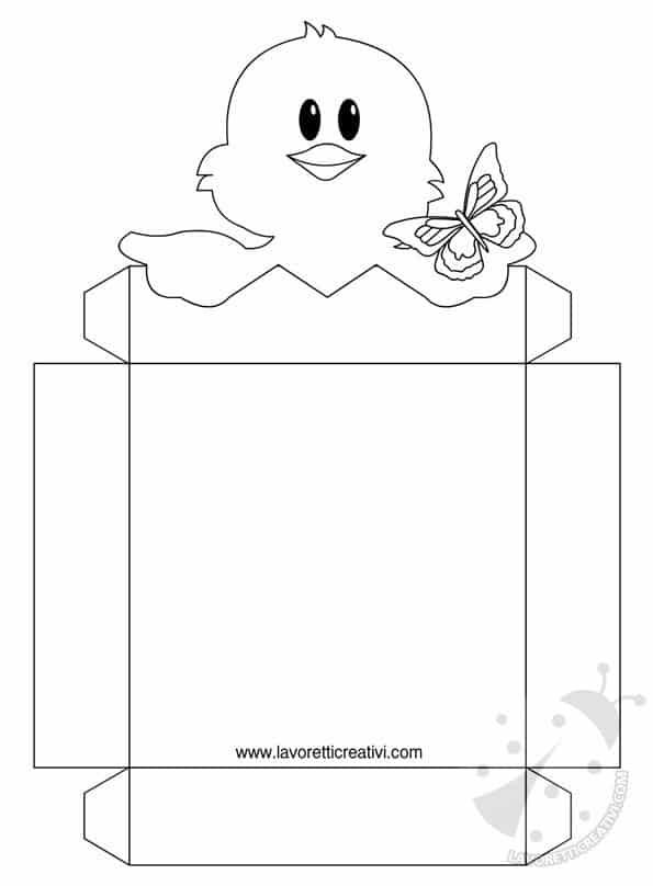 Porta Ovetti Di Pasqua Da Ritagliare Lavoretti Creativi