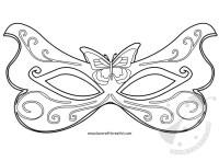 Maschere di Carnevale di carta fai da te - Fatina ...