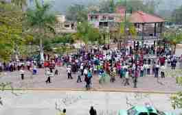 Cancelan elección interna del PRD en el Distrito de Tantoyuca; denuncian a Jorge Flores Lara de robarse 7 paquetes electorales