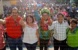 Chicontepecanos respaldan el proyecto político de Manuel Francisco Martínez Martínez