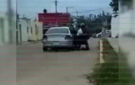 VIDEO: Intentan secuestrar a joven estudiante
