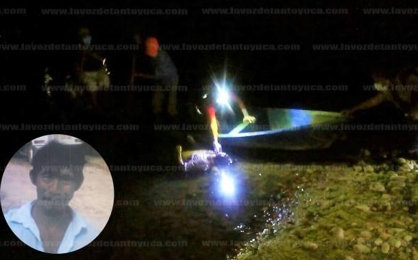 Hallan a desaparecido ahogado en el rio Calabozo