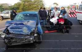Muere maestra en aparatoso accidente