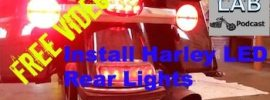 Harley Rear LED Signals Video Podcast