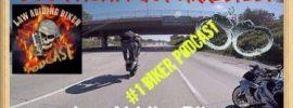 Biker Wheelie Freeway Biker Motorcycle Podcast