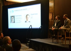 "Daniel Garrie and David Cass speak on ""How Can a Corporation Respond to a Cyber Attack?"" at the Cyber Security Summit in New York on September 21st, 2016."