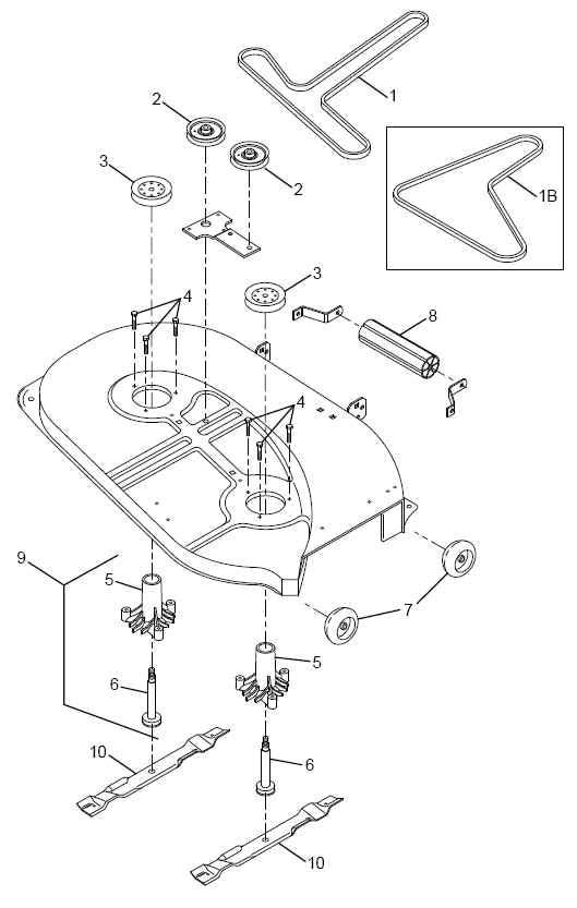 AYP 36 Inch to 42 Inch Deck Parts Diagram Lawnmower Pros