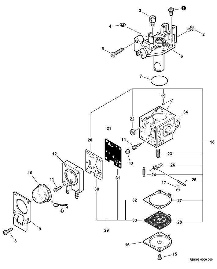 traxxas 3 3 carburetor diagram
