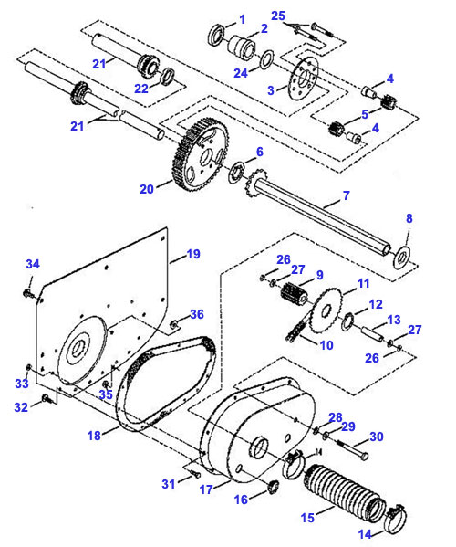snapper lawn mower engine parts