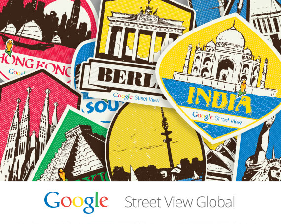 Google – Street View Global Stickers