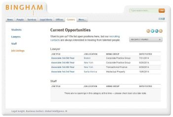 A career page still lists open jobs.