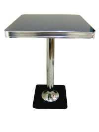 Bel Air Retro Furniture Diner Booth Hi Bar Table TO23HB 70 ...
