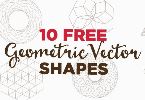 10 Free Geometric Vector Shapes