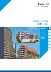 Catálogo del sistema de andamios de marco Blitz