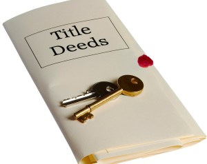 title and deeds and keys