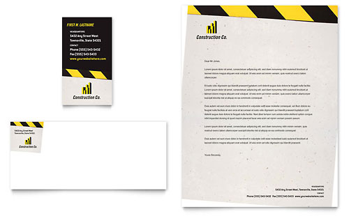 Manufacturing - Letterhead Templates - Word  Publisher - company letterhead template